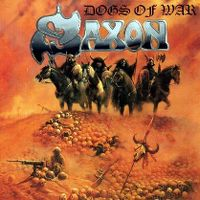 Cover Saxon - Dogs Of War