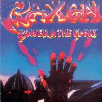 Cover Saxon - Power & The Glory