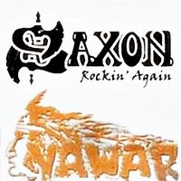 Cover Saxon - Rockin' Again