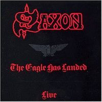Cover Saxon - The Eagle Has Landed - Live