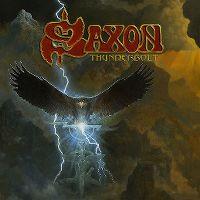 Cover Saxon - Thunderbolt