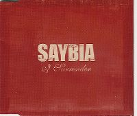 Cover Saybia - I Surrender
