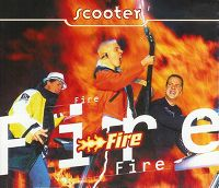 Cover Scooter - Fire