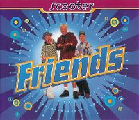 Cover Scooter - Friends