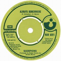 Cover Scorpions - Always Somewhere