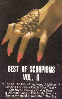 Cover Scorpions - Best Of Scorpions, Vol. 2