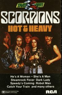 Cover Scorpions - Hot & Heavy