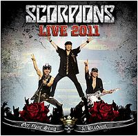 Cover Scorpions - Live 2011 - Get Your Sting & Blackout