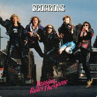Cover Scorpions - Passion Rules The Game