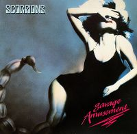 Cover Scorpions - Savage Amusement