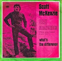 Cover Scott McKenzie - San Francisco (Be Sure To Wear Some Flowers In Your Hair)