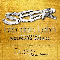 Cover Seer mit Wolfgang Ambros - Leb dein Leb'n