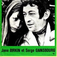 Cover Serge Gainsbourg avec Jane Birkin - 69 année érotique