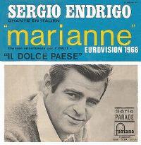 Cover Sergio Endrigo - Marianne