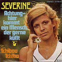 Cover Séverine - Achtung - hier kommt ein Mensch, der gerne küßt