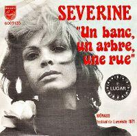 Cover Séverine - Un banc, un arbre, une rue