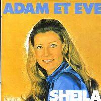Cover Sheila - Adam et Ève