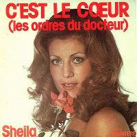 Cover Sheila - C'est le cœur (les ordres du docteur)