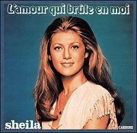Cover Sheila - L'amour qui brûle en moi
