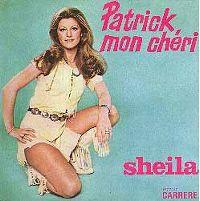 Cover Sheila - Patrick, mon chéri