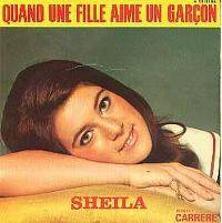 Cover Sheila - Quand une fille aime un garçon