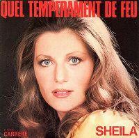 Cover Sheila - Quel tempérament de feu