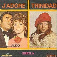 Cover Sheila avec Aldo - J'adore
