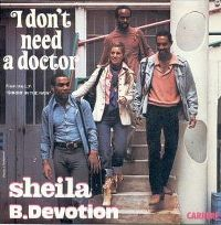Cover Sheila B. Devotion - I Don't Need A Doctor