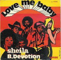 Cover Sheila B. Devotion - Love Me Baby