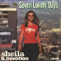 Cover Sheila B. Devotion - Seven Lonely Days