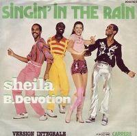 Cover Sheila B. Devotion - Singin' In The Rain