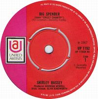 Cover Shirley Bassey - Big Spender