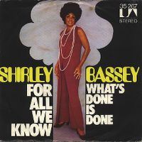 Cover Shirley Bassey - For All We Know
