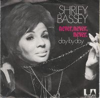 Cover Shirley Bassey - Never, Never, Never