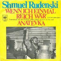 Cover Shmuel Rodensky - Wenn ich einmal reich wär