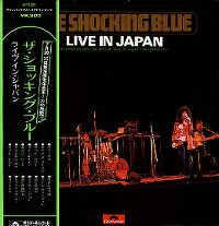 Cover Shocking Blue - Live In Japan