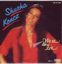 Cover Shusha Koncz - Wo ist die Zeit?