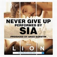 Cover Sia - Never Give Up