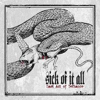 Cover Sick Of It All - Last Act Of Defiance