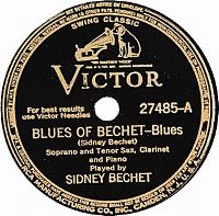 Cover Sidney Bechet - Blues Of Bechet