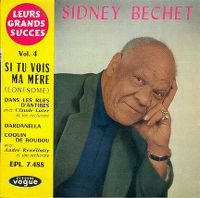 Cover Sidney Bechet - Si tu vois ma mère