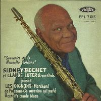 Cover Sidney Bechet / Claude Luter - Les oignons