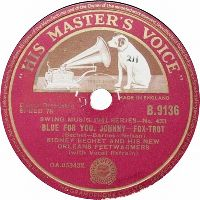 Cover Sidney Bechet And His New Orleans Feetwarmers - Blues For You, Johnny