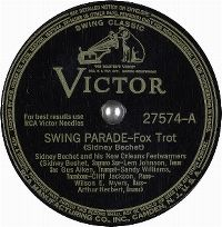 Cover Sidney Bechet And His New Orleans Feetwarmers - Swing Parade