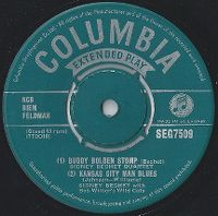 Cover Sidney Bechet Quartet - Buddy Bolden Stomp