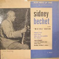 "Cover Sidney Bechet's Blue Note Jazz Men - With ""Wild Bill"" Davison"