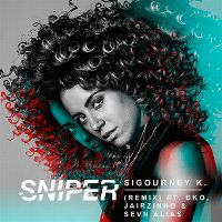 Cover Sigourney K. feat. BKO, Jairzinho & Sevn Alias - Sniper (Remix)