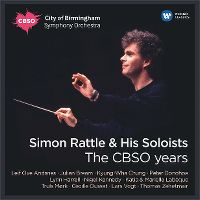 Cover Simon Rattle - Simon Rattle & His Soloists - The CBSO Years