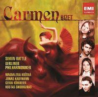 Cover Simon Rattle / Berliner Philharmoniker - Carmen - Bizet