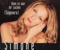 Cover Simone - Denn es war ihr Lachen (Sayonara)